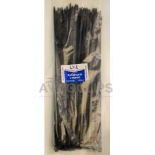 Стяжки кабельные 5х300 мм. черные