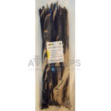 Стяжки кабельные 3,6х350 мм. черные