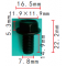 H 2072 - Болт для Audi / Seat / Skoda / VW  T1=12.0*12.0,F=7.8, L=15.0