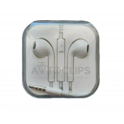 Наушники Apple Hands Free earpods (copy AA) white