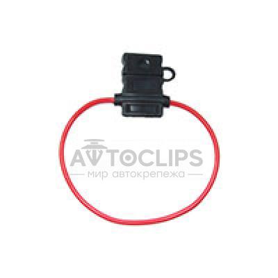 RPU1P Навесной предохранитель черный пластиковый
