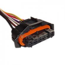 RP319 Разъем 6-контактный серии 3,5 мм аналог TE 936394-2 для педали акселератора Fiat, Alfa, Hyundai, Kia, Smart, Lada