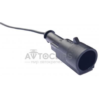RP165 Разъем 1-к штырьевой влагозащищенный серии 1,5мм аналог AMP TE 282103-1 серии SuperSeaL 1,5 с проводом