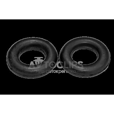 Подушка глушителя универсальная круглая большая