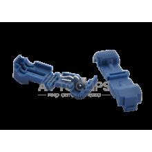 T2 Соединитель проводов (через папу) синий