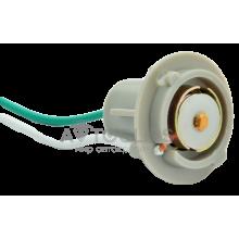 PN14 Патрон заднего фонаря Lanos, Sens 1-контактный серый (цокольн.) с проводом
