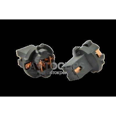 PN4 Патрон под лампу W1,2W (W2x4.6d) в комбинацию приборов ВАЗ 2109, иномарки (медь) завод