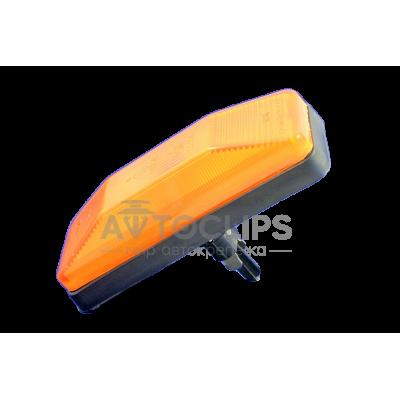 Повторитель поворота ВАЗ 2106, 03 желтый защелка