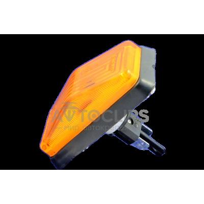 Повторитель поворота ВАЗ 2105, 07 желтый защелка