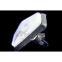 Повторитель поворота ВАЗ 2105, 07 белый защелка