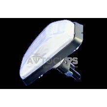 Повторитель поворота ВАЗ 2108, 09 белый защелка