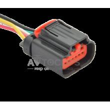 RP371 Разъем 5-ти контактный аналог AMP 1-1419168-1 серии 1,3 мм к соединительной вилке эл. дросселя двигателя УМЗ-4216 евро4, ВАЗ
