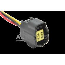RP376 Разъем 4-х контактный аналог AMP 174257-2 для датчика кислорода Лямбда-зонда Chevrolet Aveo Lacetti 1.6