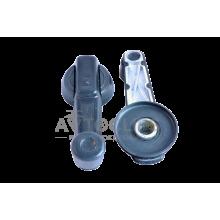 Ручка стеклоподъемника ВАЗ 2101-07 (метал.) с пластмассовой заклепкой