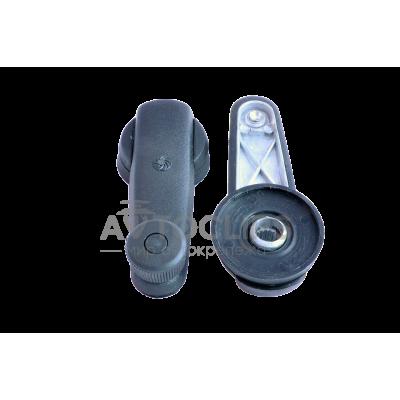 Ручка стеклоподъемника ВАЗ 2108, 09 (метал.) с металлической заклепкой