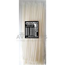 Стяжки кабельные 5x250мм белые