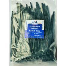 Стяжки кабельные 8х150 мм. черные