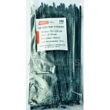 Стяжки кабельные 4х200 мм. черные