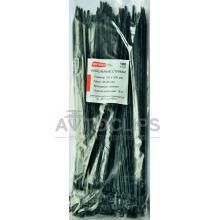 Стяжки кабельные 4х300 мм. черные