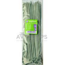 Стяжки кабельные 4х300 мм. серые