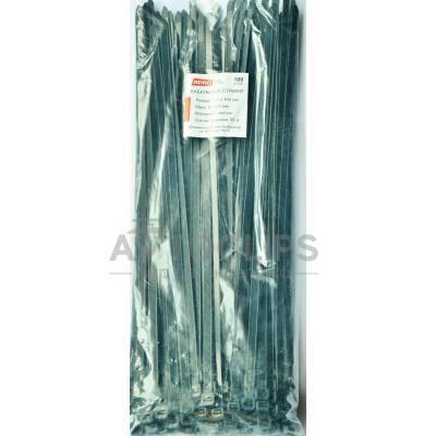Стяжки кабельные 8х400 мм. черные