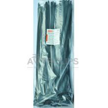 Стяжки кабельные 8х450 мм. черные