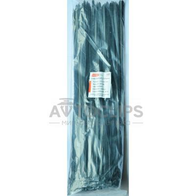 Стяжки кабельные 8х500 мм. черные